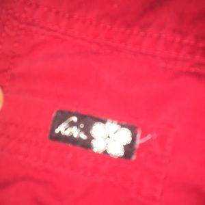 koi Pants - Koi sz small Red scrub pants( the Lindsay style)